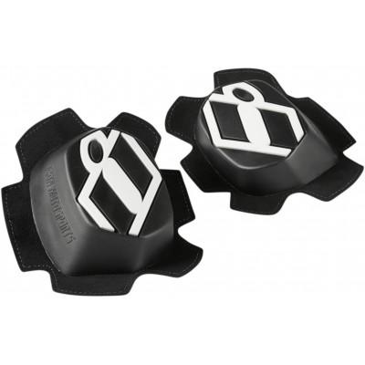 Knee Sliders Set Icon Hypersport black/white