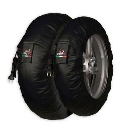 Tyrewarmers set Suprema Spina M/XL - Black
