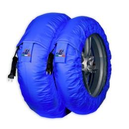 Tyrewarmers set Smart Spina M/XL - Blue