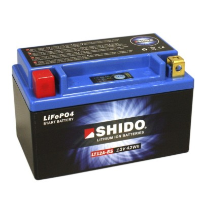 Battery Shido LT12B-BS Lithium Ion