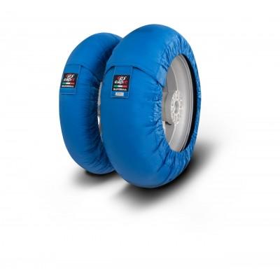 Tyrewarmers set Suprema Spina M/XL - Blue